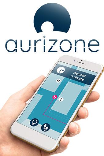Aurizone, le GPS d'intérieur dédié aux personnes malvoyantes